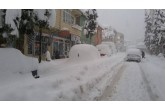 Erfelek'te Kar Hayatı Durdurdu